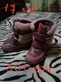 Зимние сапожки чобітки Котофей