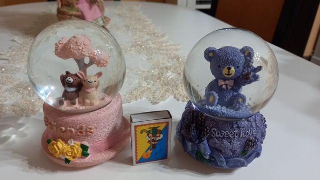 Стекляный шар, шар со снегом, сувенир шар, музыкальный шар