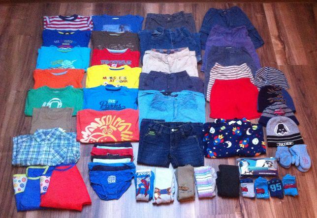 Zestaw 55 ubrań, r. 1,5-2-3 lata, 86, 92, 98 cm