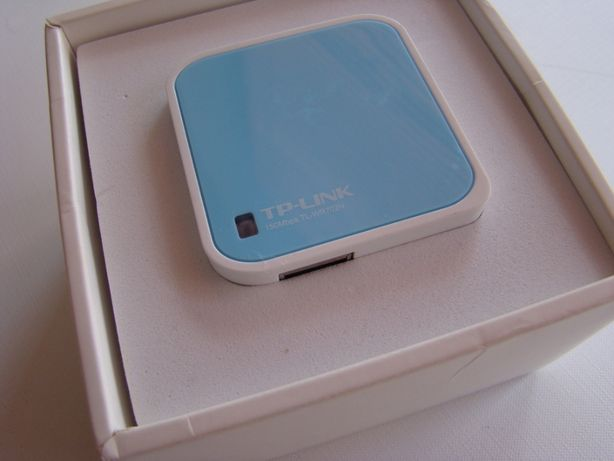 Router TP-Link TL-WR702N, malutki router, Repeater