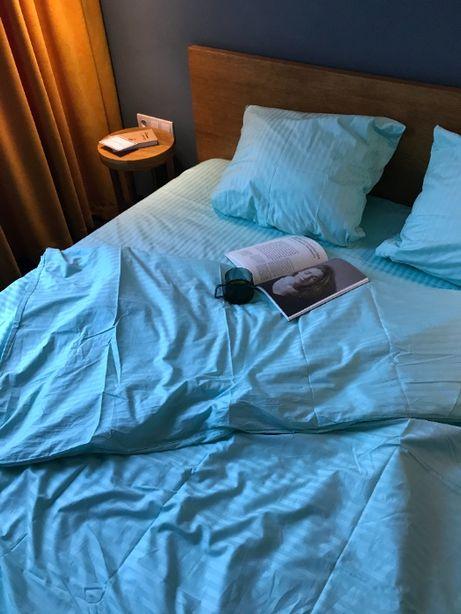 ПРЕМИАЛЬНОЕ постельное белье, страйп-сатин, натуральный хлопок, ВИДЕО!