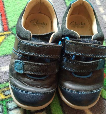 Кожаные туфли кроссовки Clarks р-р 6 23 Хорошие кроссовочки (или туф