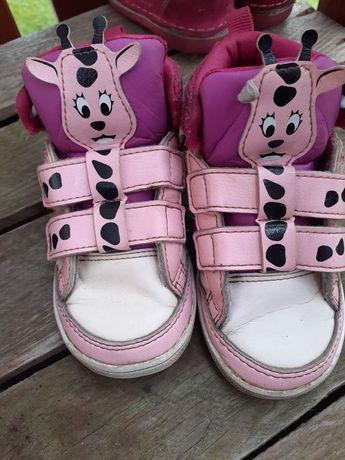 Adidas neo buciki dla dziewczynki