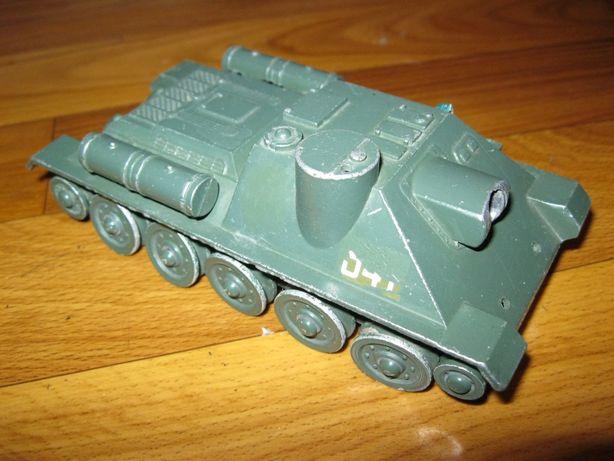 САУ танк игрушка СССР.