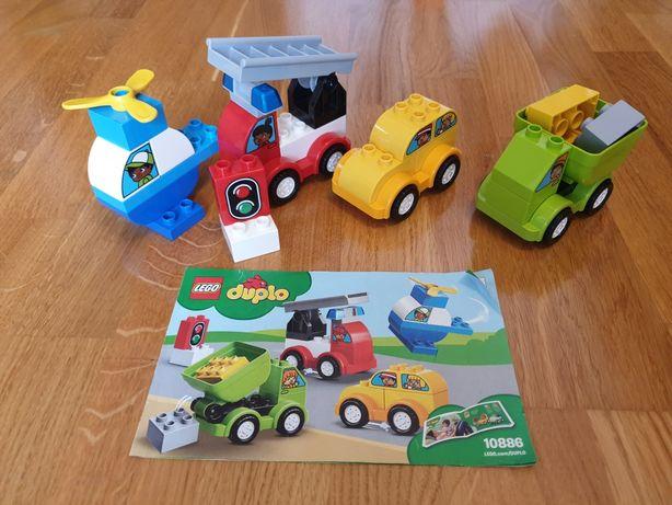Lego Duplo Машинки и Вертолет
