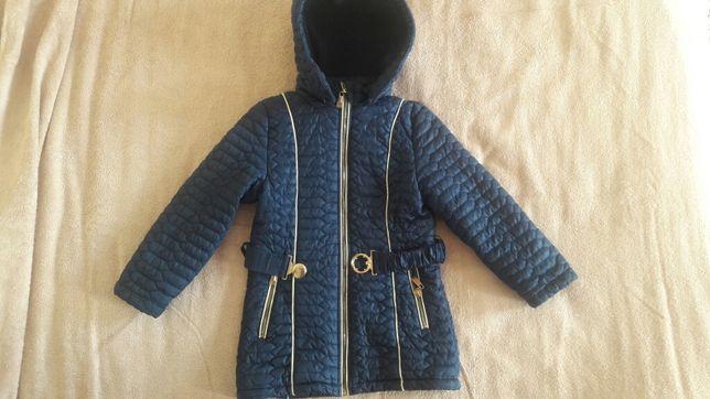 Куртка классная 110-116, практичная курточка демисезон
