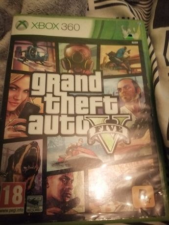 Gra GTA V Xbox 360