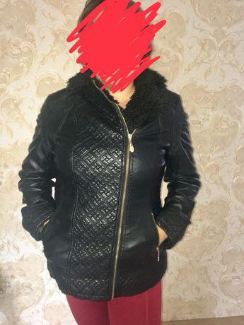 Кожаная (эко)куртка косуха р.50-52р.
