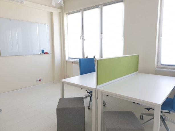 Meble biurowe - zestaw - biurko i nastawka Cobu Design