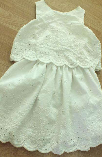smyk koronkowa sukienka 104