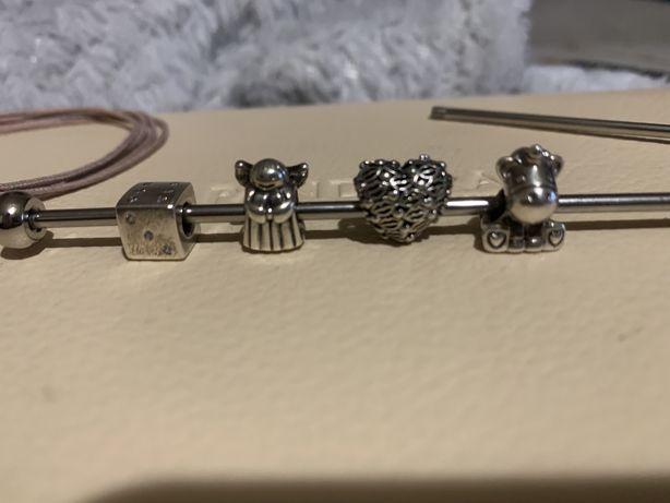 3 charmsy Pandora 100% orginale ! Zbierma na nowe