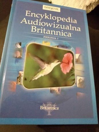 Encyklopedia Audiowizualna Britannica z plytą