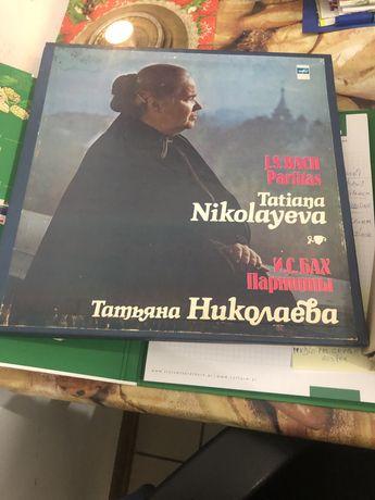 Bach Ludwig van Beethoven 32 sonaty Tatiana Nikolayeva płyty winylowe