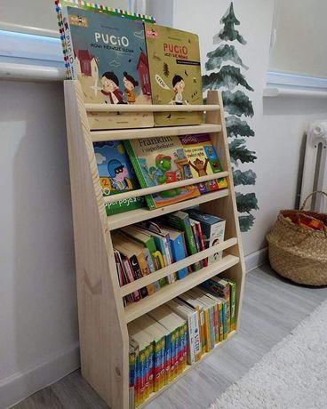 Biblioteczka, regał na książki, Montessori