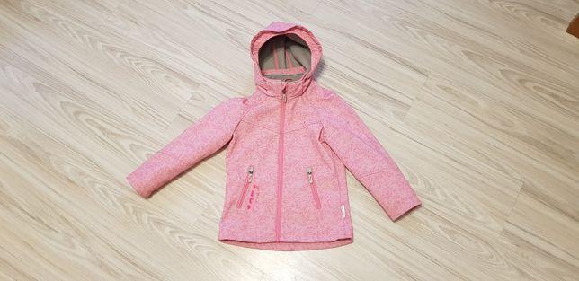 Softshell r. 110-122 c&a northville kurtka dla dziewczynki