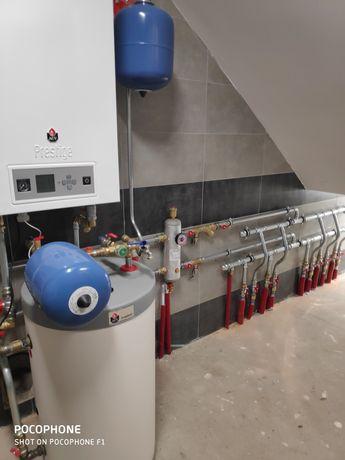 Hydraulika Rekuperacja Wentylacja mechaniczna Gruntowe pompy ciepła