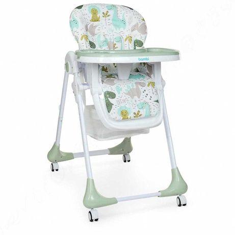 Детский стульчик для кормления Bambi (M 3233) складной