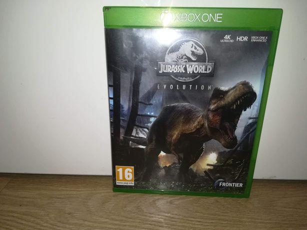 Gra Jurassic World Evolution Xbox one