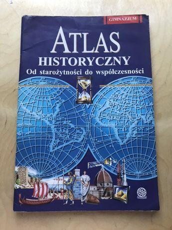 Atlas Historyczny od starożytności do współczesności. Gimnazjum