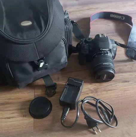 Aparat Canon 700d korpus + obiektyw 18-55mm
