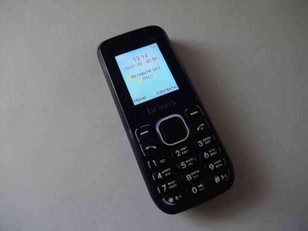 Мобильный телефон Bravis C183 на 2 сим карты