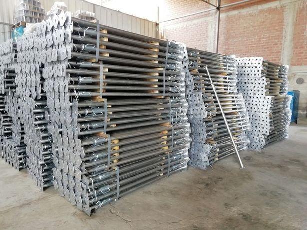 3,6m OCYNKOWANE NOWE Stemple budowlane, podpory stropowe ocynkowane