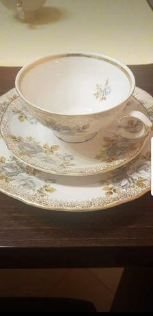 Porcelana Winterling, trio, antyk