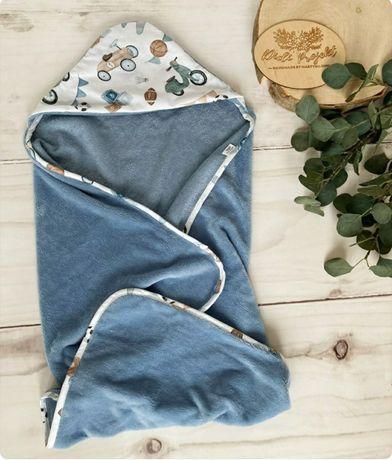Ręcznik z kapturkiem okrycie 90x90