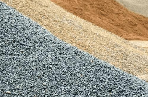 Щебінь Пісок Мачка Гравій Чорнозем Цегла