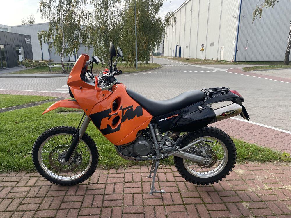 KTM LC4 640 Adventure Akrapovic