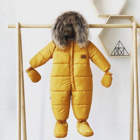Детский зимний комбинезон новый