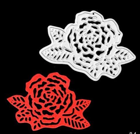 Scrapbooking - Wykrojnik - róża nr 2