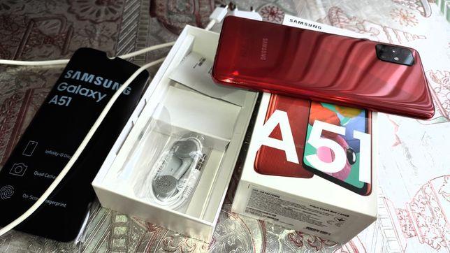 Продам свой Samsung A51 ещё на гарантии
