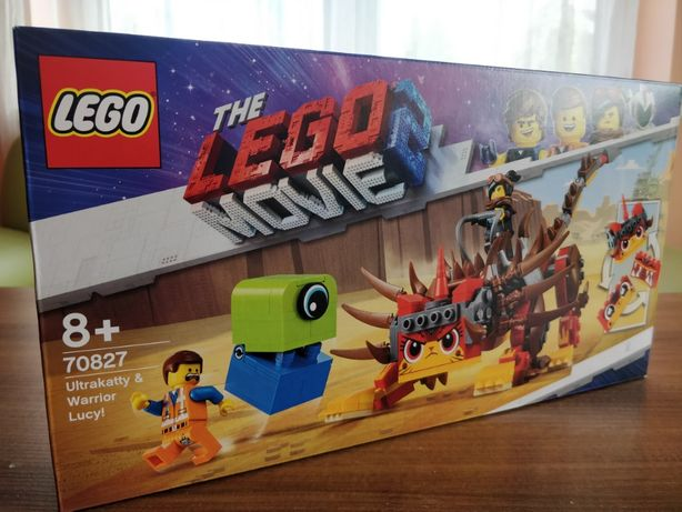 NOWE LEGO 70827 The LEGO Movie 2 - UltraKocia i Lucy Wojowniczka