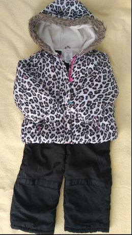 Зимний комбинезон Carter's 3Т на 2-3года (куртка + 2 штанов)
