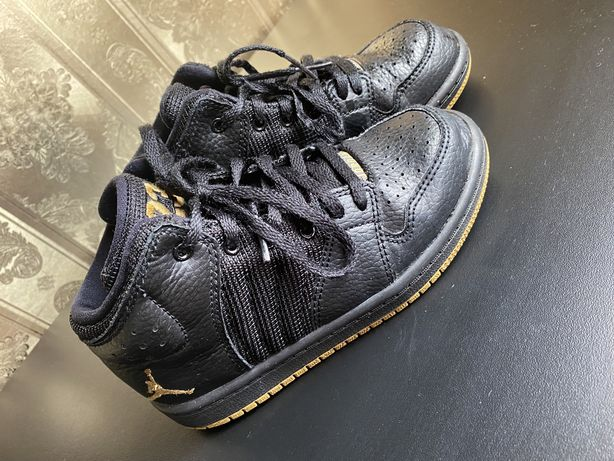 Хайтопы кожаные Jordan кроссовки