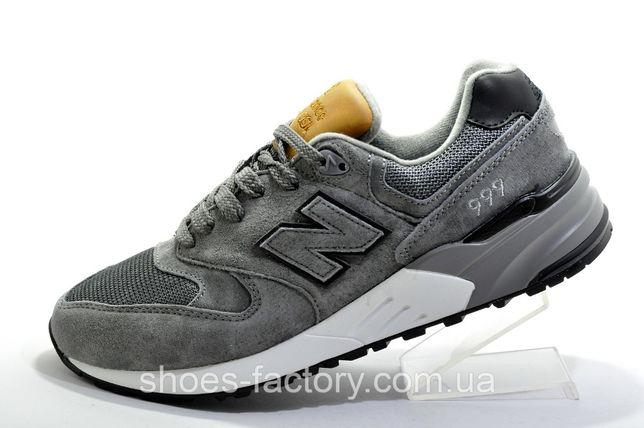 Кроссовки мужские New Balance 999, Серый, купить со скидкой