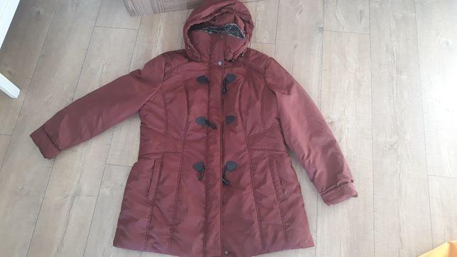 Ciepła kurtka przejściowa  damska firmy C&A w rozmiarze 44