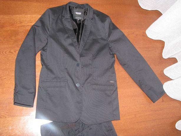 Marynarka, garnitur, czarny 164 Reporter młodzieżowa