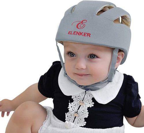 Kask ochronny dla niemowląt - niebieski