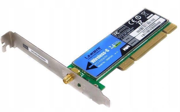 Linksys Wireless-G PCI Adapter WMP54G karta WiFi