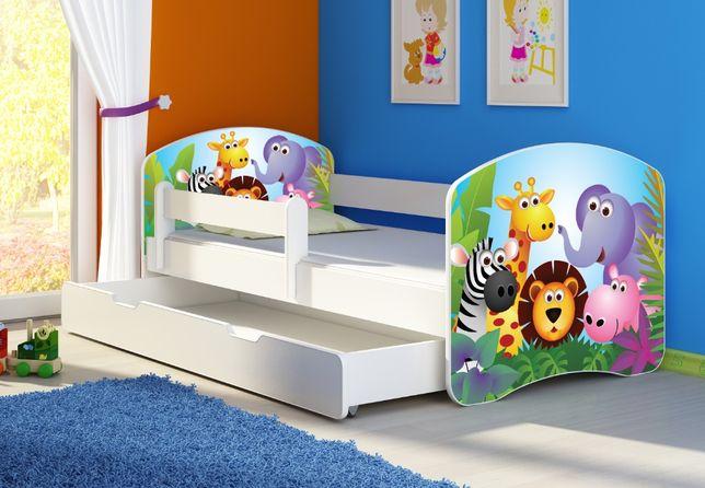 Łóżko, łóżeczko dziecięce Białe 140X70