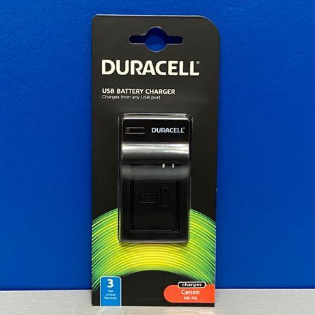 Carregador Duracell - Bateria Canon NB-10L (Canon G1X/G3X/G15/G16)