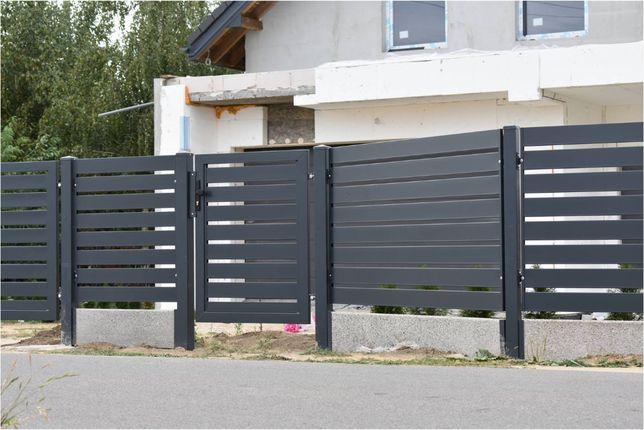 Ogrodzenia palisadowe, nowoczesne, metalowe. Montaż