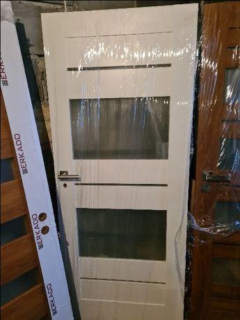 drzwi białe PORTA WERTE wersja łazienkowa prawe 80 NOWE!