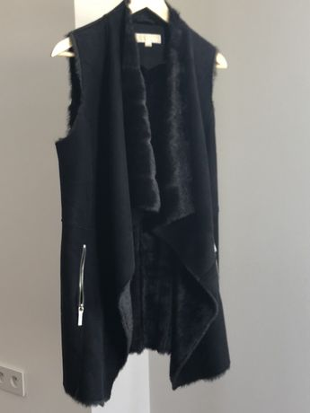 MK Michael Kors futerko sztuczne kamizelka czarna XS