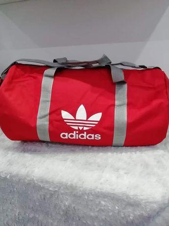 Torba torebka sportowa podróżna na siłownię Adidas