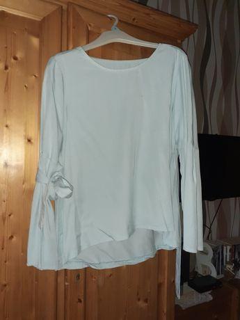 bluzka koszula damska błekitna