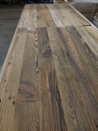 Stare drewno, Stare Belki ciosane, Drewno z odzysku, Aranżacja wnętrza