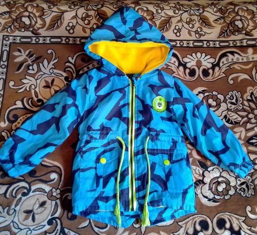 Куртка на мальчика весна осень